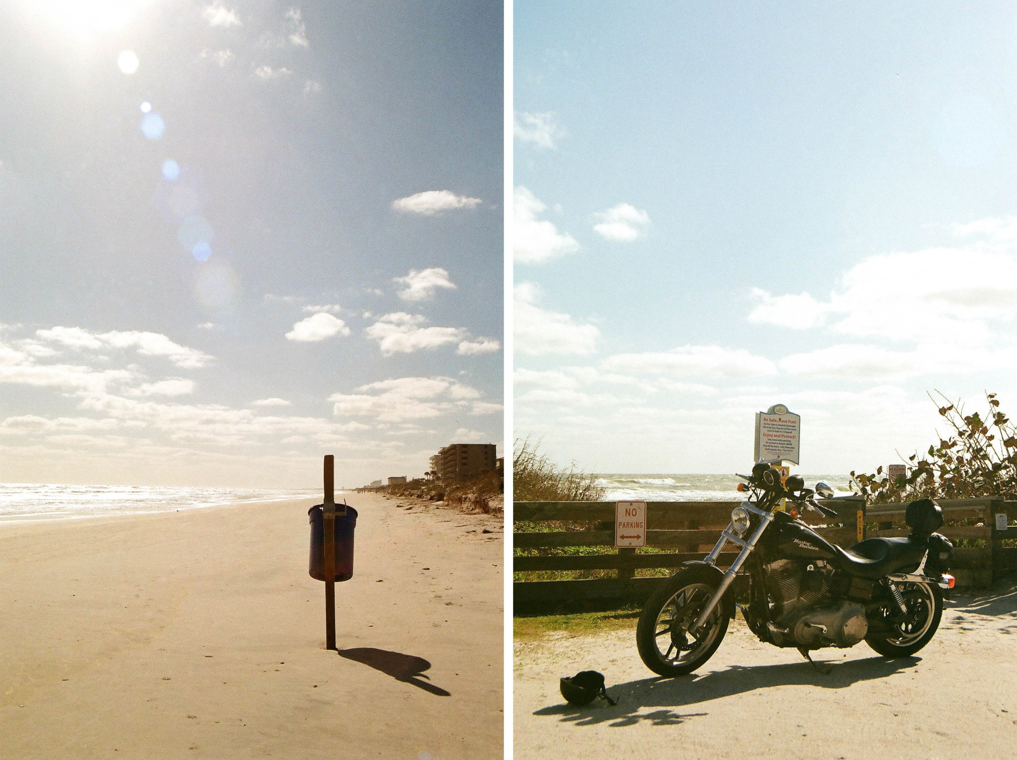 beach and bike